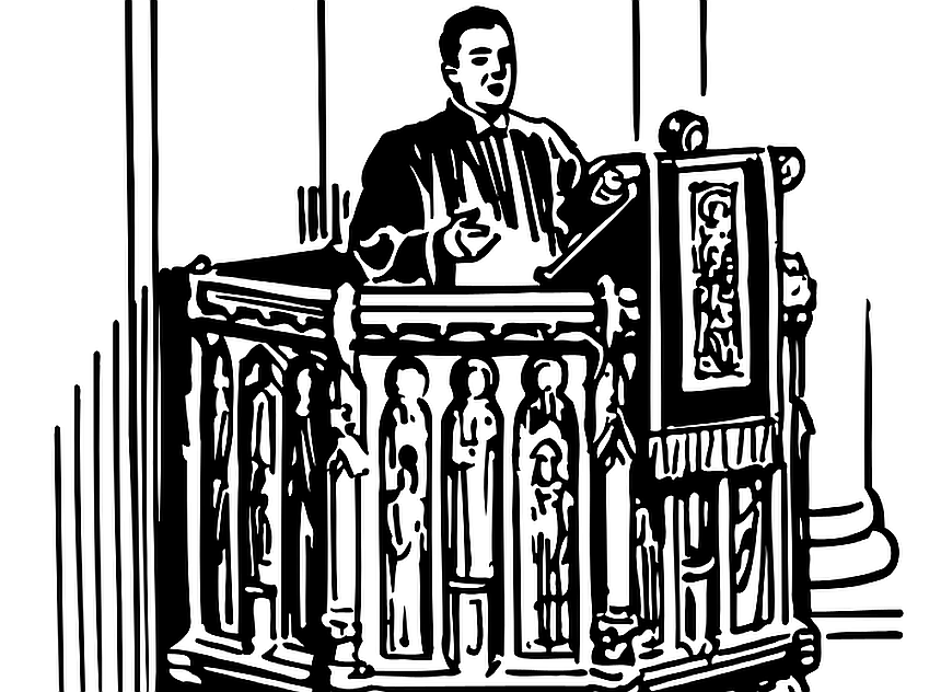 Neid auf einen, der besser predigt? Das Bild zeigt einen Prediger auf seiner Kanzel