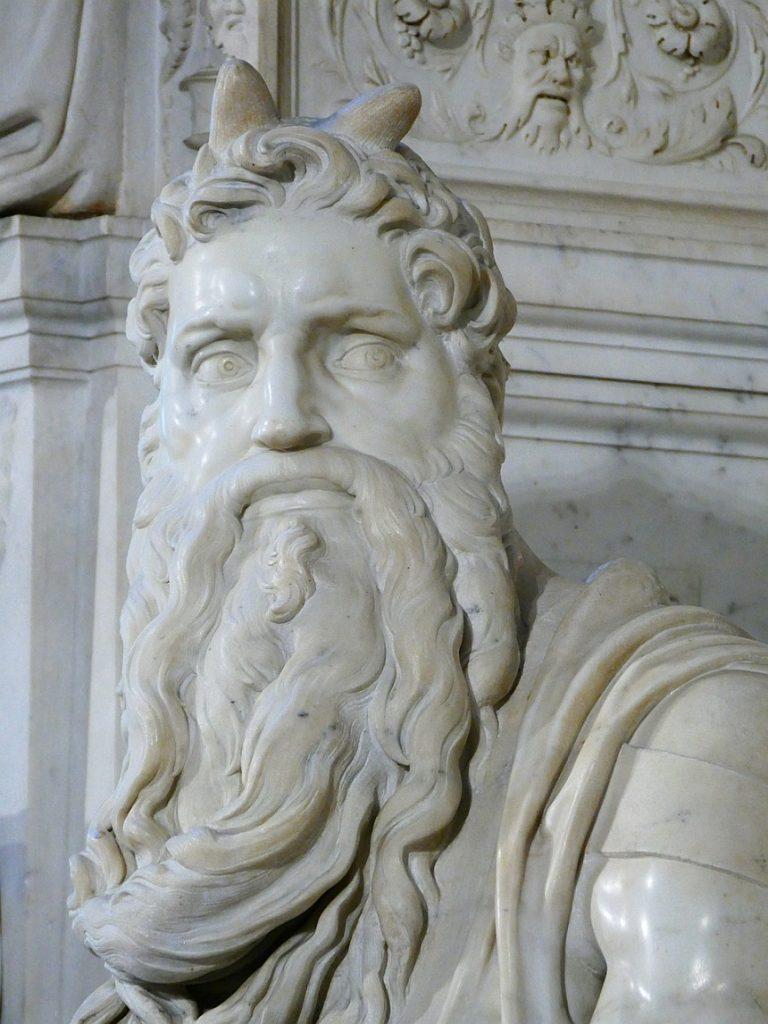 Statue von Mose