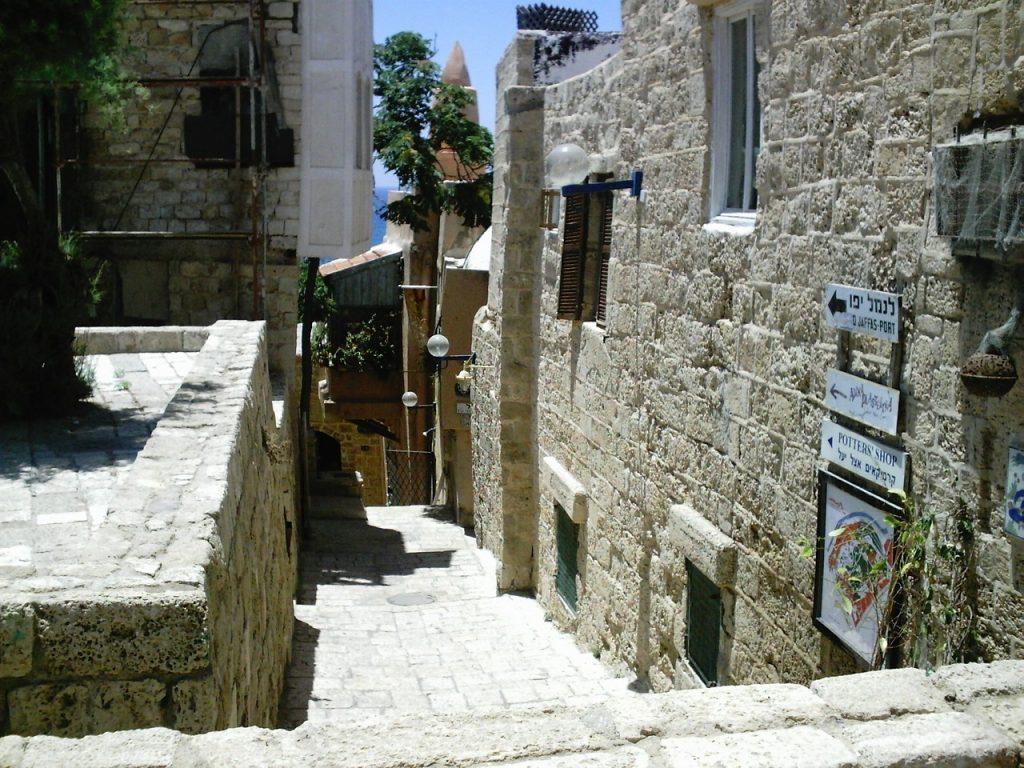 Die heutige Altstadt von Jaffa in Israel, das früher Joppe hieß