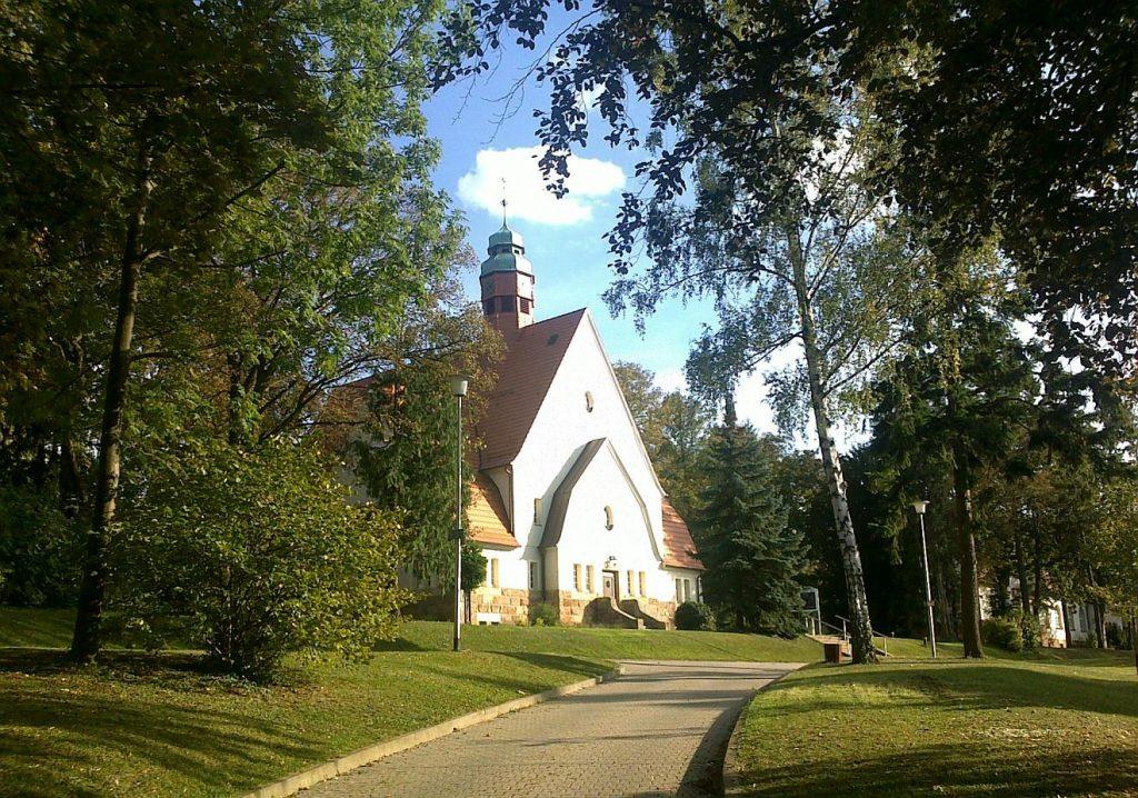 Die Klinikkapelle in Alzey nach der Renovierung im Jahr 2011