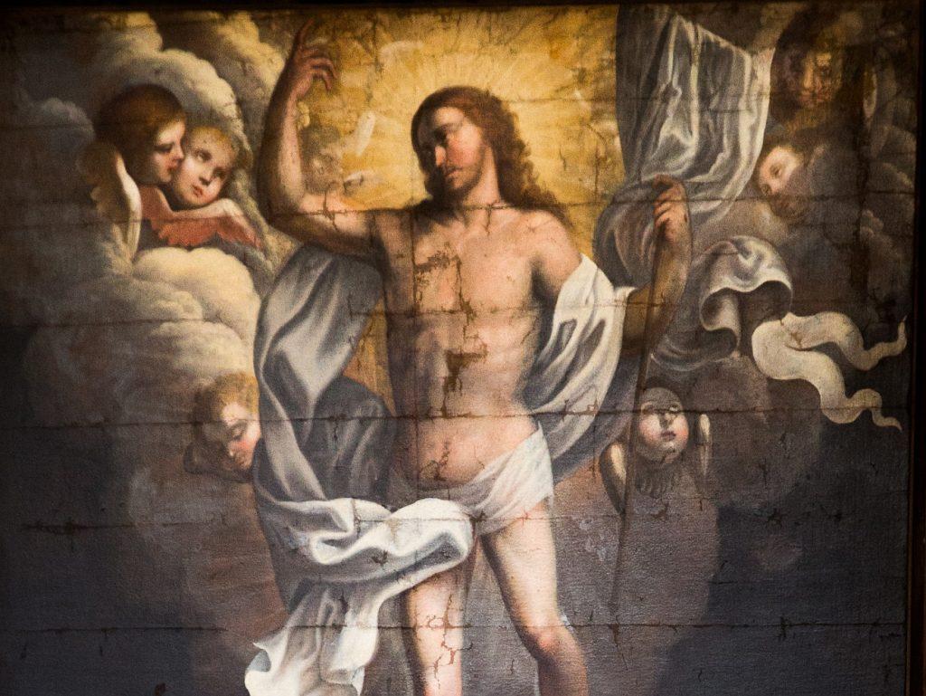 Das Fluchholz wird zum Siegeszeichen - ein Bild der Auferstehung Jesu aus dem Tod
