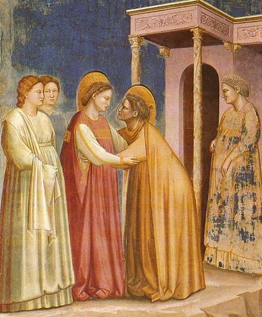 Maria und Elisabeth begegnen einander