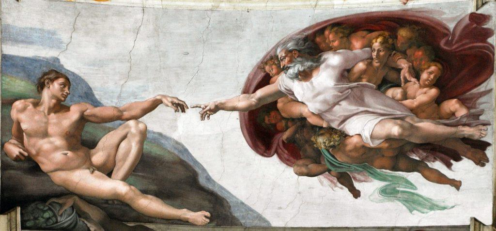 Michelangelo: Die Erschaffung des Menschen