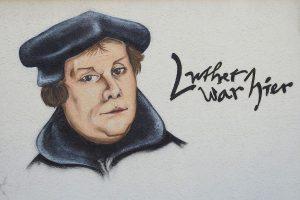 Luther Fassadenmalerei