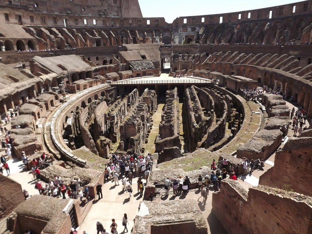 Das Kolosseum in Rom - ein Symbol der Macht der damaligen Weltordnung