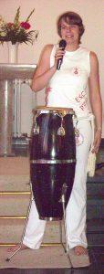 Eva Haase erzählt von den Ursprüngen des Capoeira