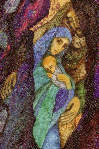Die Heilige Familie (Ausschnitt des großen Bildes)