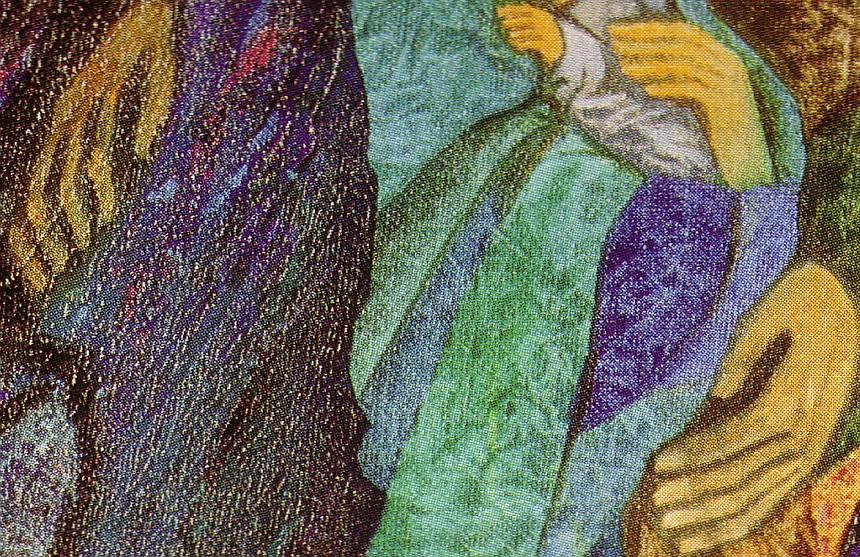 Beate Heinen Weihnachtsbilder.Christvesper Am 24 12 2007 Bildbetrachtung Riss In Der Realität