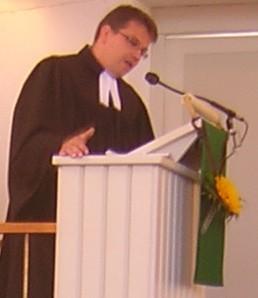Festprediger Dekan Frank-Tilo Becher