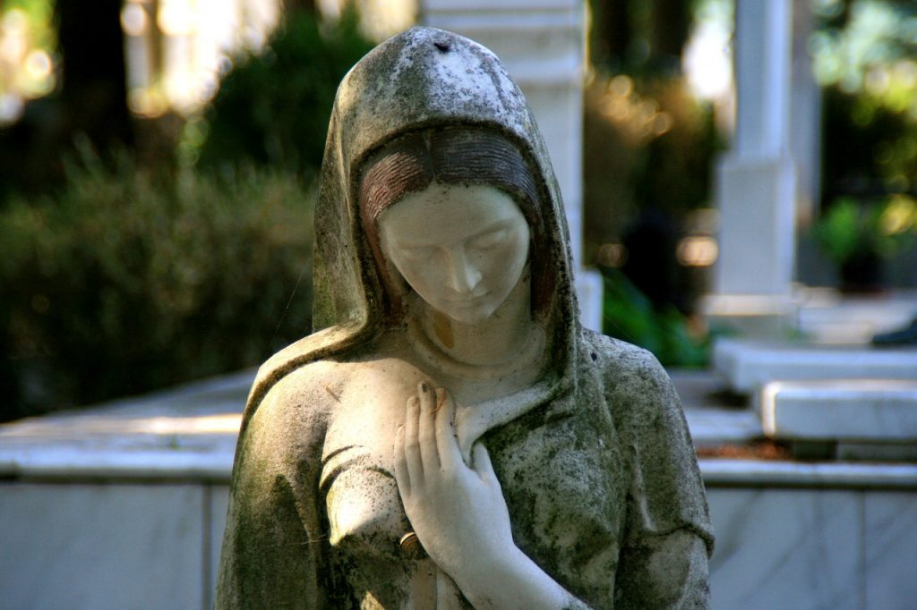 Statue der Jungfrau Maria (Foto: pixabay.com)