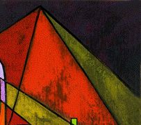 Eine Pyramide