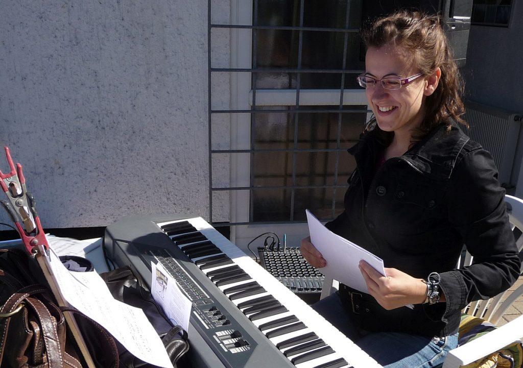Am Keyboard: Grit Laux