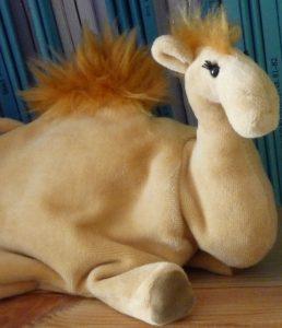 Jamal, die kleine Kamel-Handpuppe