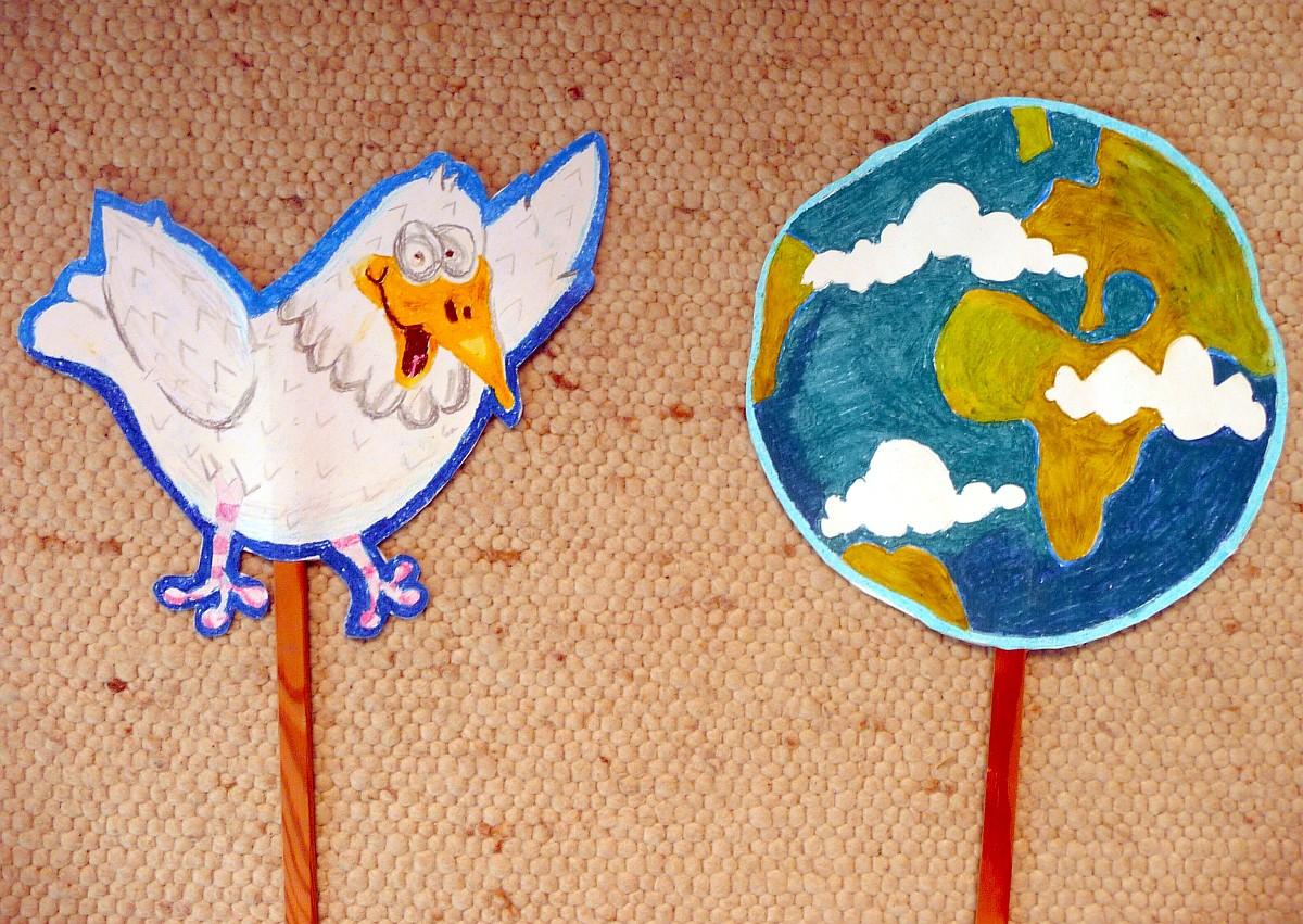 Schulanfangsgottesdienst am 14.8.2012: Die ganze Welt in Gottes Hand