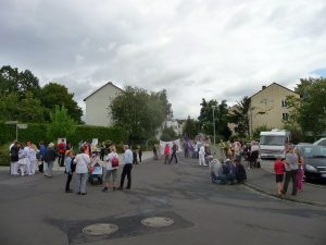 Blick über den Quartiers-Anger