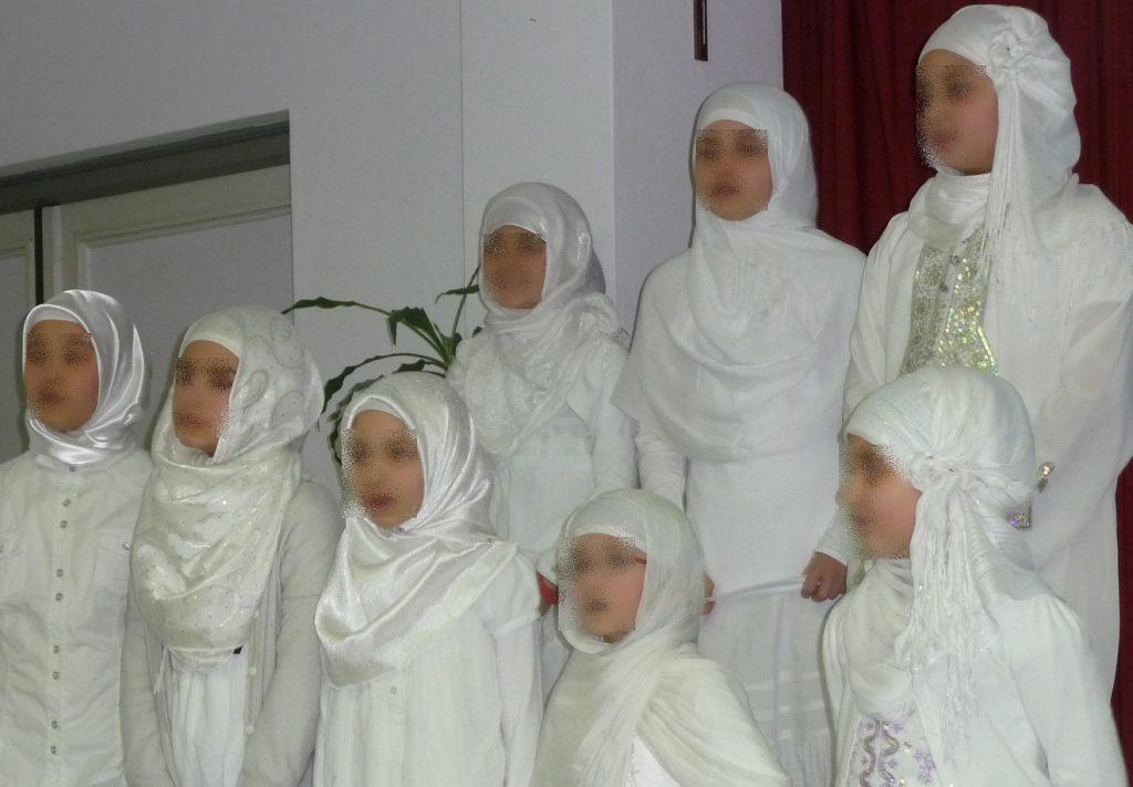 Der Kinderchor der Türkisch-Islamischen Gemeinde Gießen