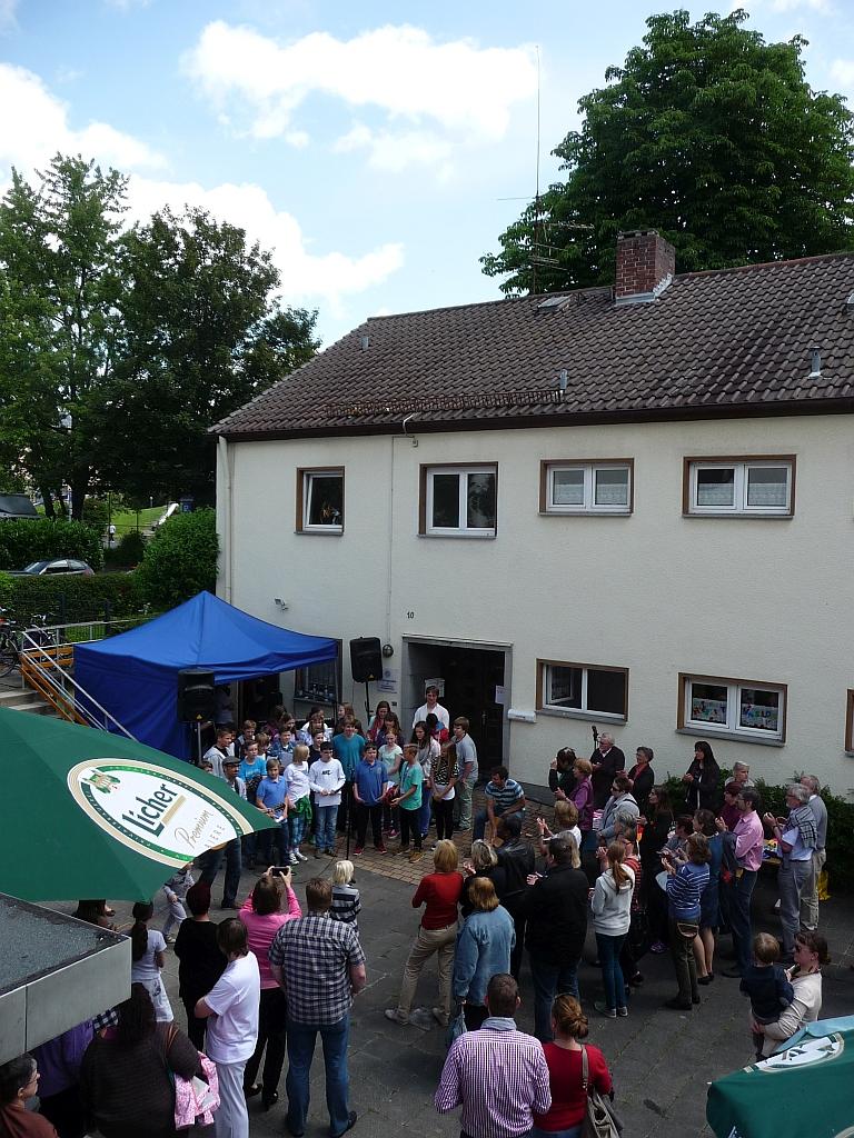 """Gemeindefest """"Wir sind alle Nachbarn"""" auf dem Gelände der Evangelischen Paulusgemeinde Gießen"""