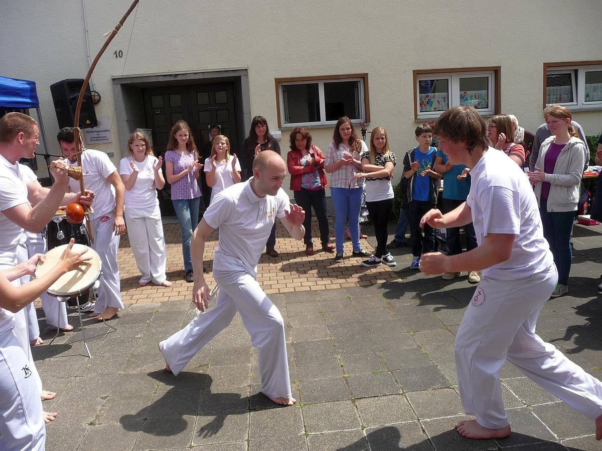 Weitere Bilder von der Capoeira-Vorführung