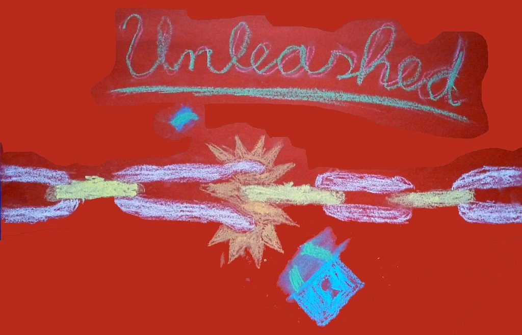 """Eine weitere Konfi-Gruppe hat sich den Namen """"Unleashed"""" = """"Entfesselt"""" gegeben"""