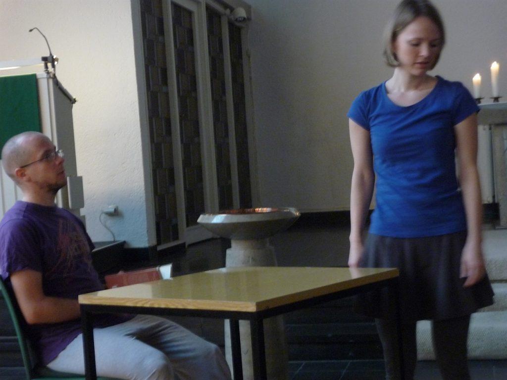 Tanztheater zweite Szene: Dorian Gray