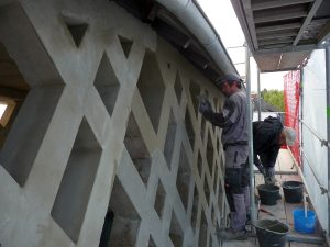 Dieser Teil der Sanierungsarbeiten gehörte zu den aufwendigsten