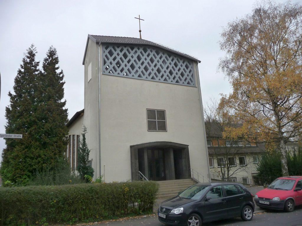 Kirchturm der evangelischen Pauluskirche Gießen