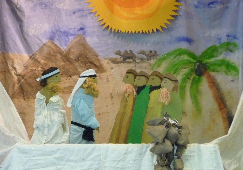 Jakob holt seinen Vater und seine Brüder nach Ägypten