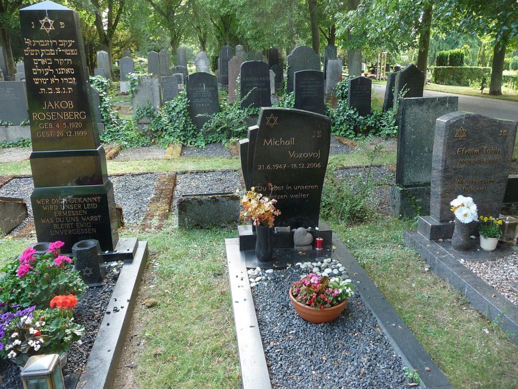 Drei jüdische Grabsteine