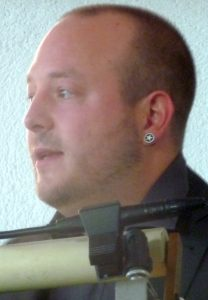 Simon Schmidt, Leiter des Jugendzentrums Holzwurm