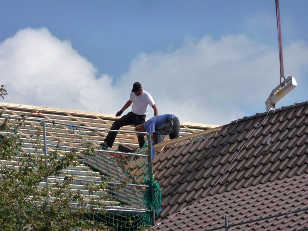 In unseren Breiten halten sich in der Regel nur Dachdecker auf Dächern auf