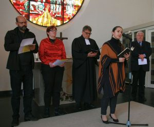 ... und Nuray Atmaca von der Türkisch-Islamischen Gemeinde Gießen