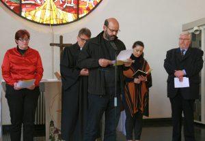 ... wie Abderrahim En-Nosse von der Islamischen Gemeinde Gießen...