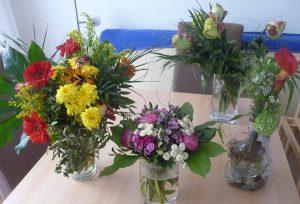 ... oder mancherlei Blumen...
