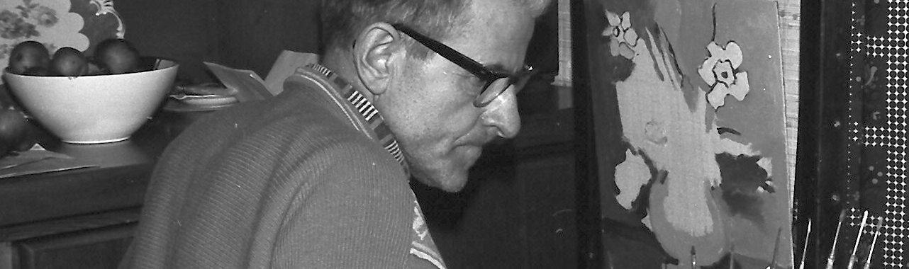 1967-Rudi-Schuetz-an-der-Staffelei