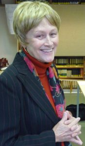 Jane Schaberg in Heidelberg in late October 2009