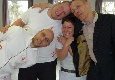 Mario Dirks, Jürgen Neumann, Rolf Weinreich und Miriam Lißmann