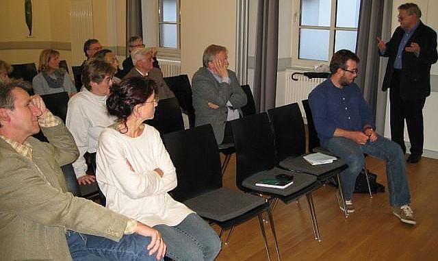 Dr. Hans-Ulrich Hauschild - nahe beim Publikum