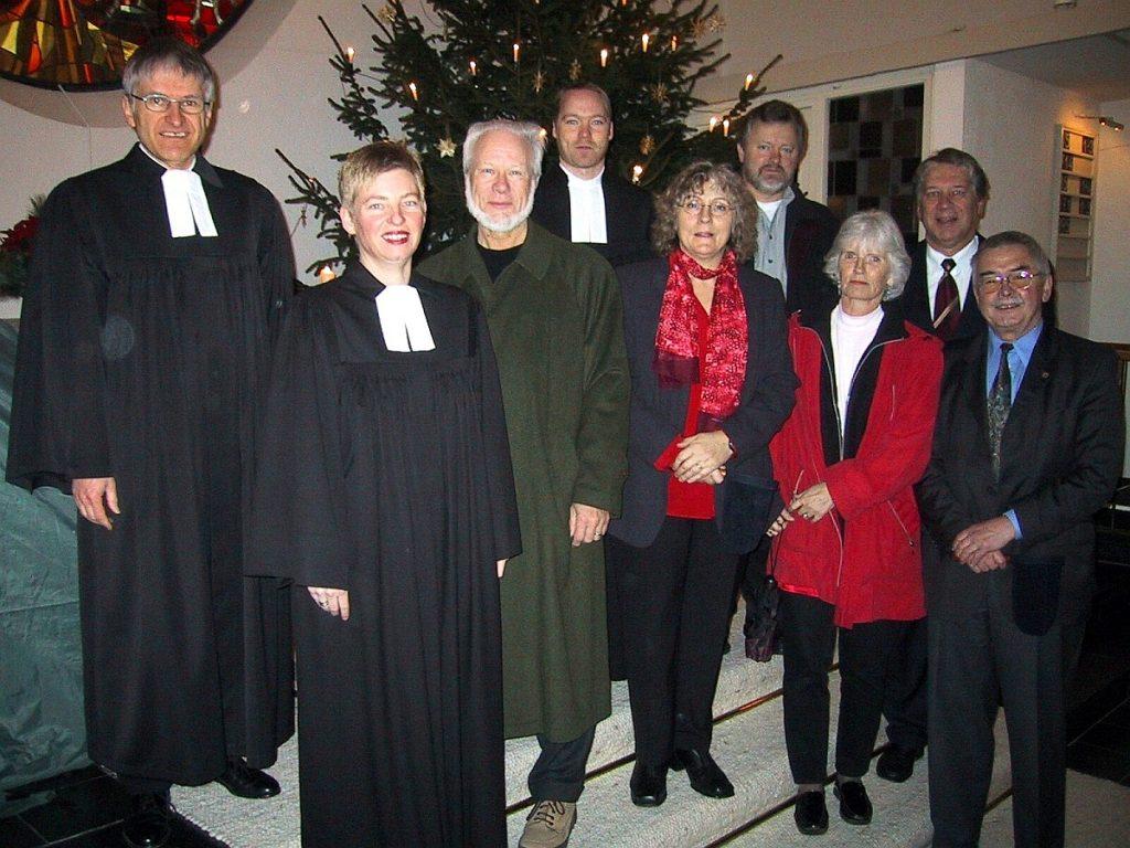 Foto der Beteiligten am dritten Gottesdienst zwischen den Jahren