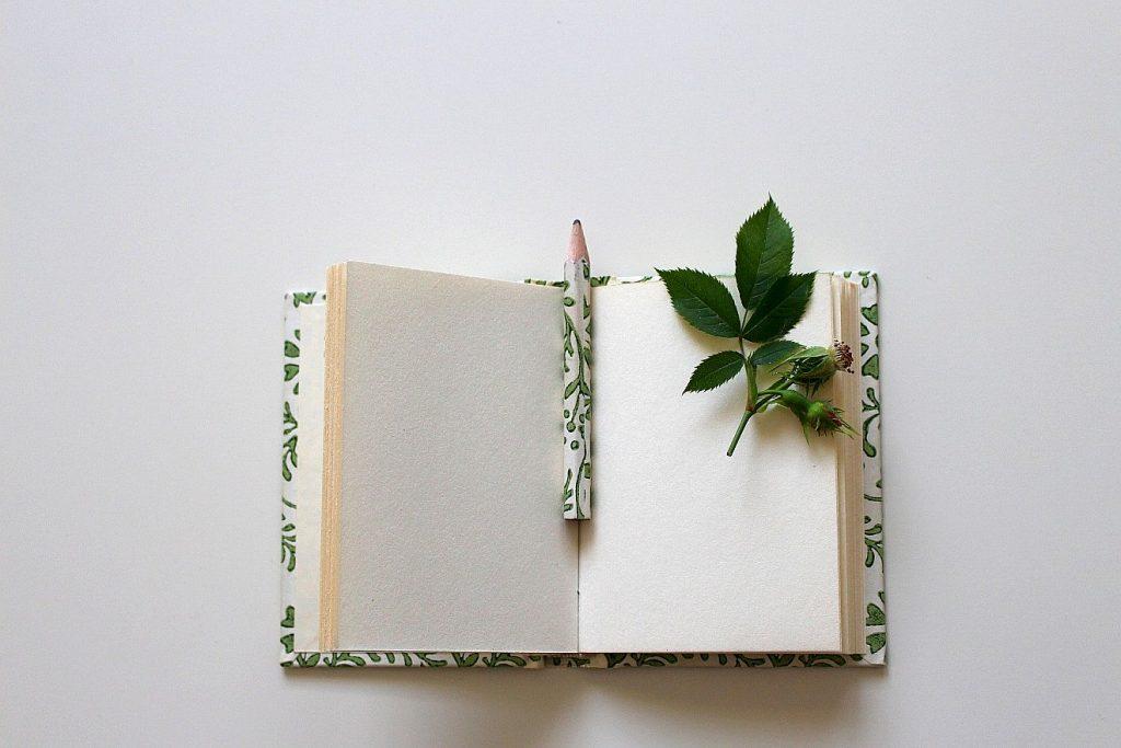 Kleines Büchlein, das als Gästebuch genutzt werden kann.