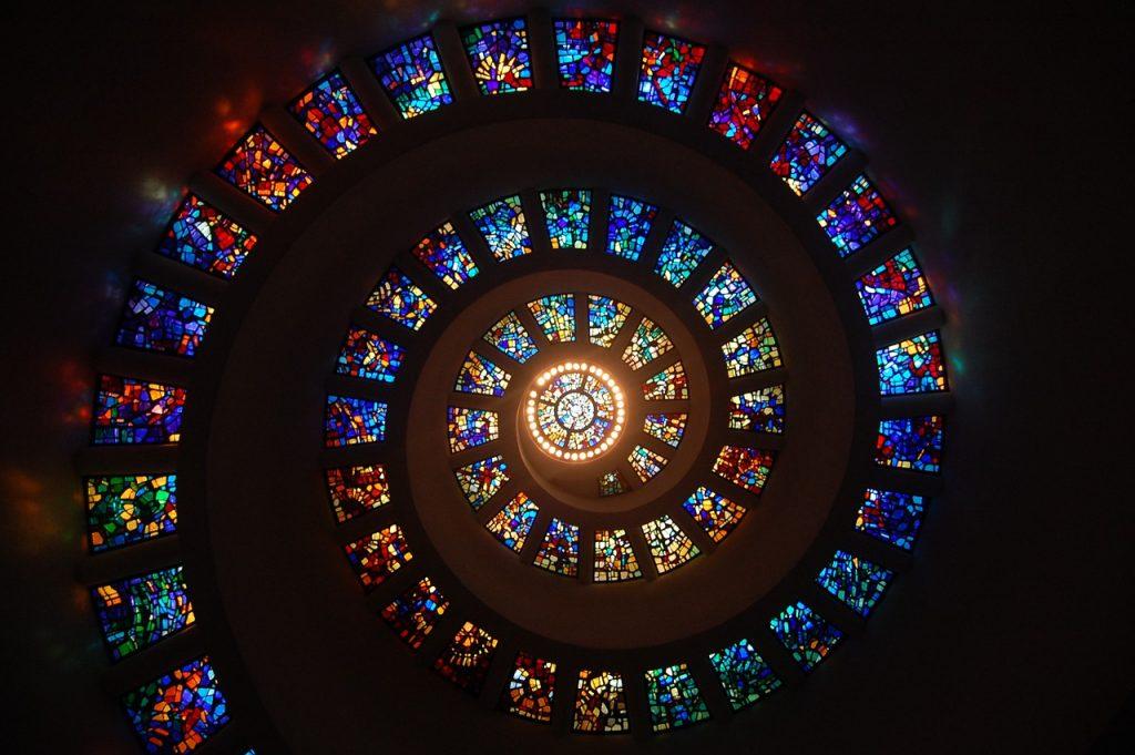 Kirchenfensterspirale