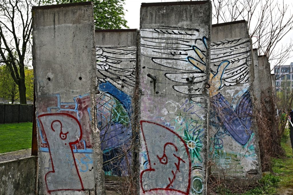 Teilstücke der Berliner Mauer