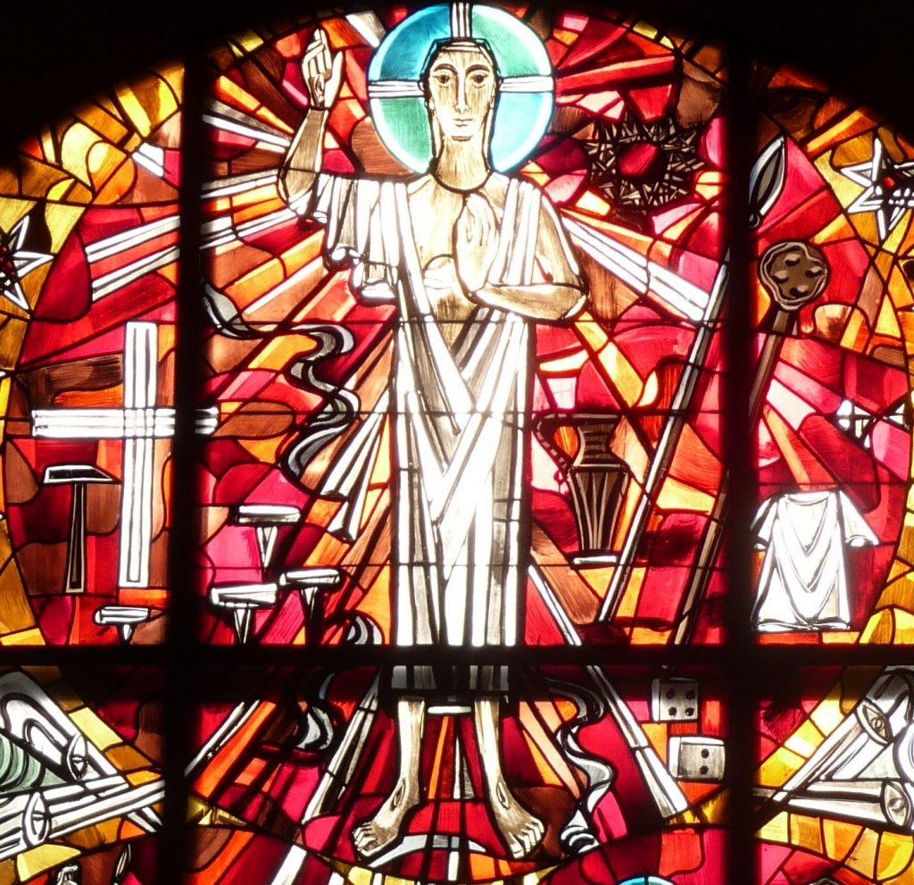 Altarfensterbild: Christus-Kreis