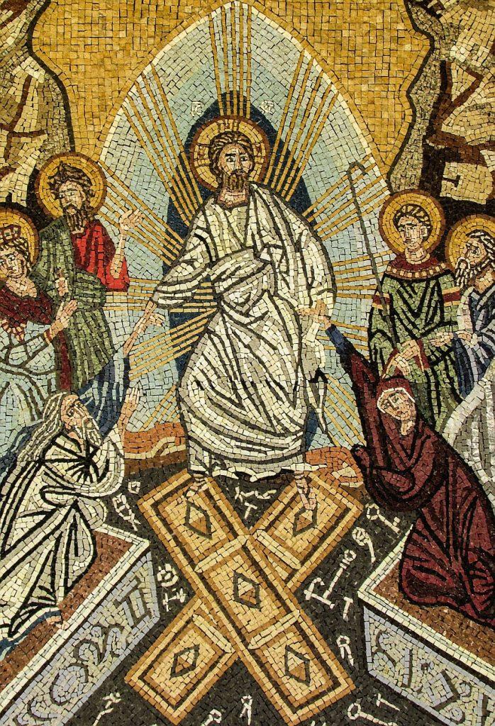 Ikone der Auferstehung Christi aus dem Grab