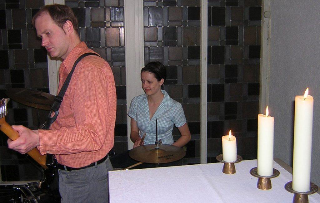Bertram Hinz und Carina von Weyhe