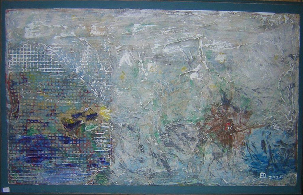 """Ein Bild der Ausstellung von Erich Dritsch """"Wie das Leben so strömt"""""""
