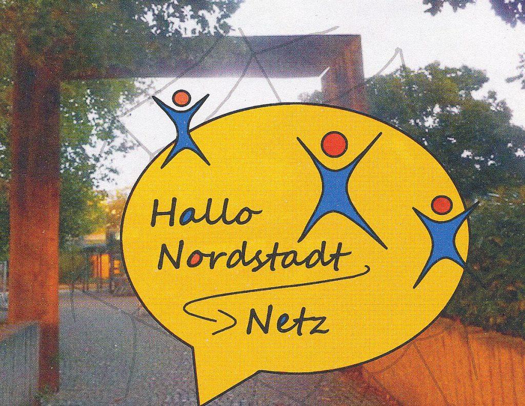 """Logo der Aktion """"Hallo Nordstadt - Netz"""""""