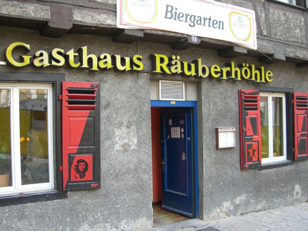 Das Gasthaus Räberhoehle in Ravensburg