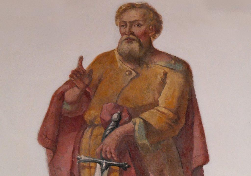 Der Apostel Paulus in einer Pfarrkirche St. Franziskus