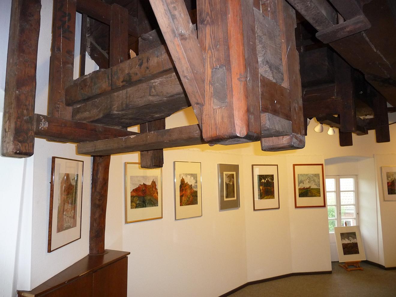 Eine Kunstausstellung in der zweiten Greetsieler Mühle