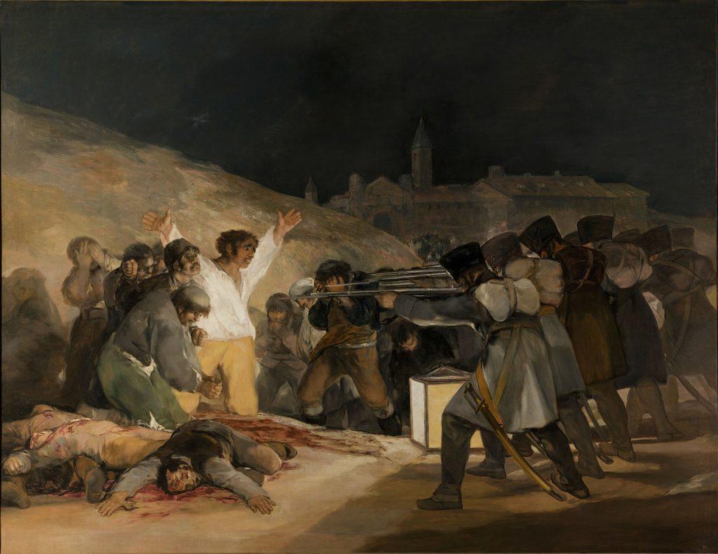 Gemälde von Francisco de Goya (1814): Erschießung